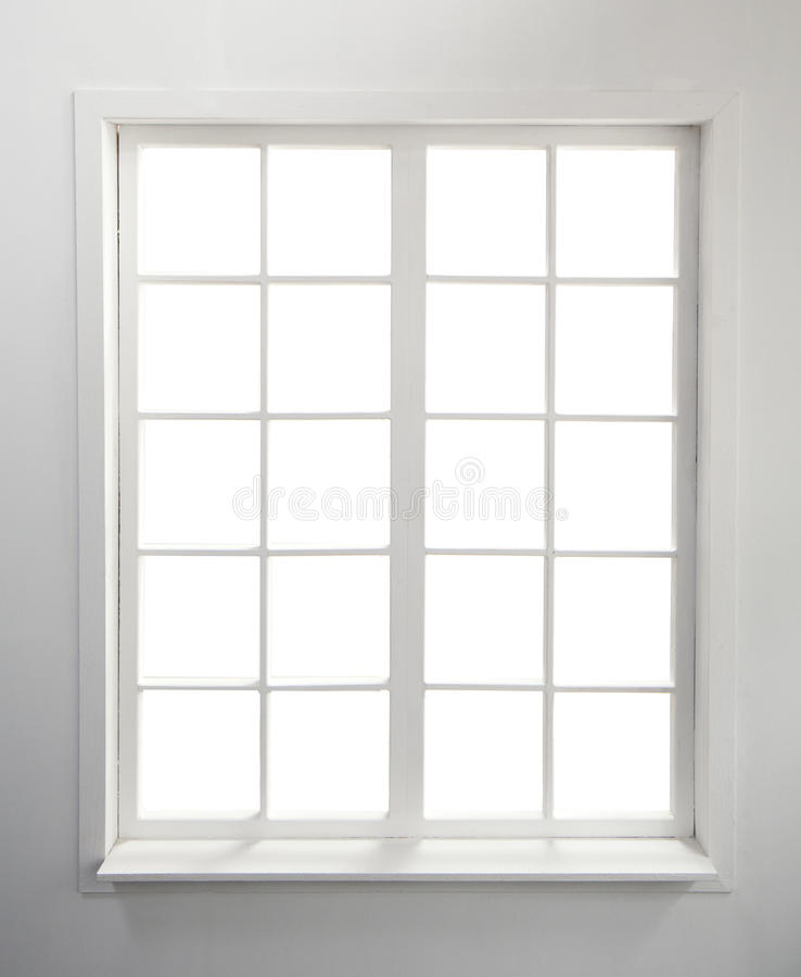 Window on White stock photo. Image of residential, sill ...