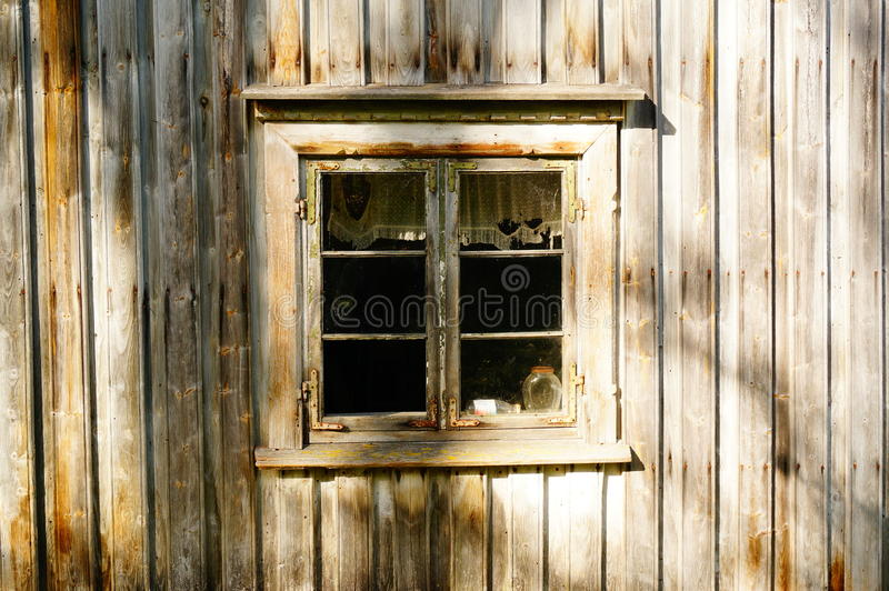 Download Window Wood In Old Farm House, Norway Stock Image - Image of gourmet, fall: 45019663