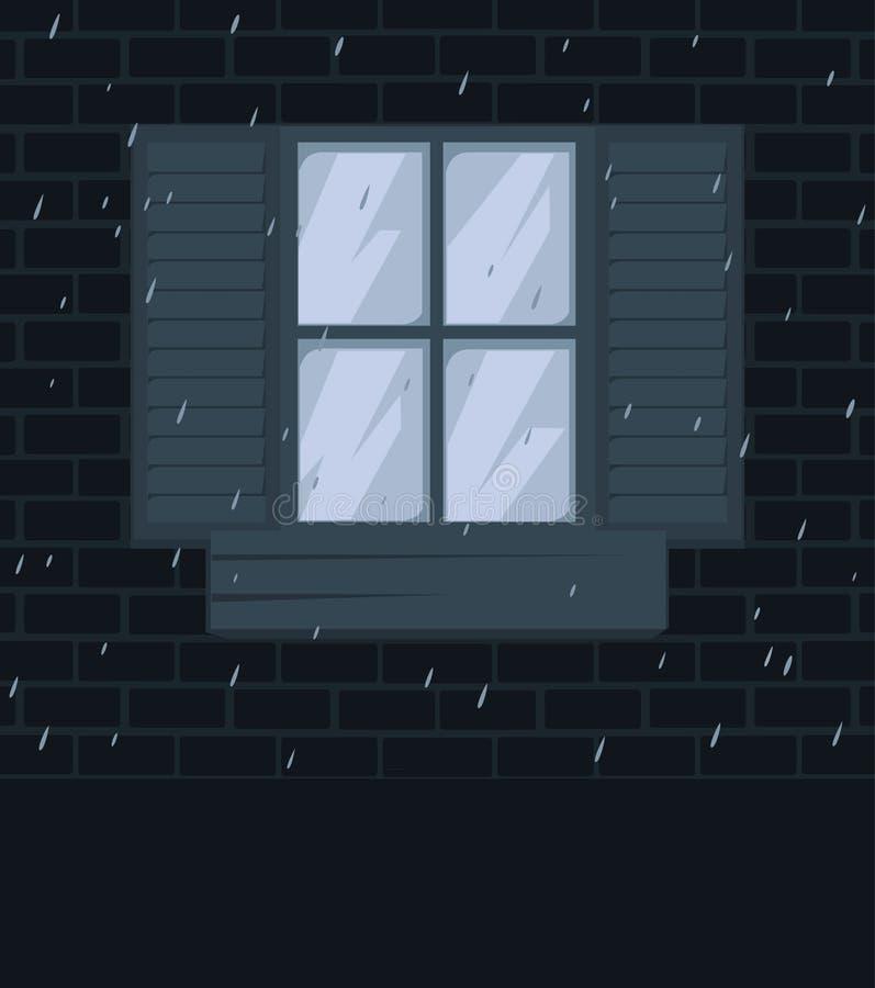 Window2 ilustração stock