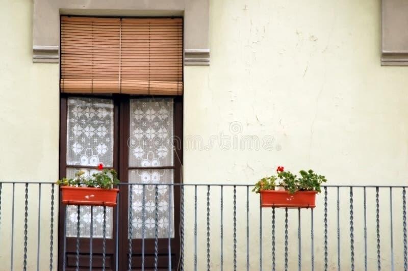 windowdoor hiszpanii zdjęcia stock