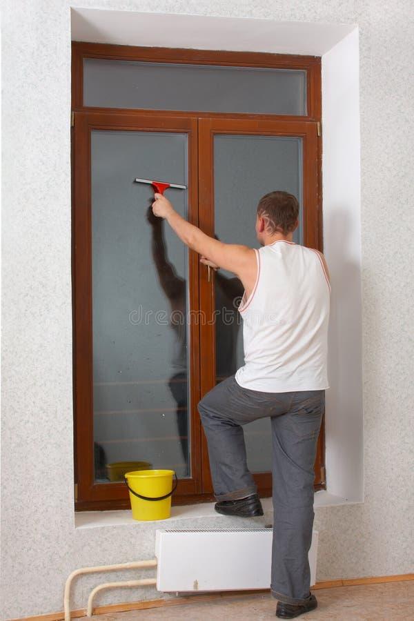 windowpane stary mycia zdjęcia stock