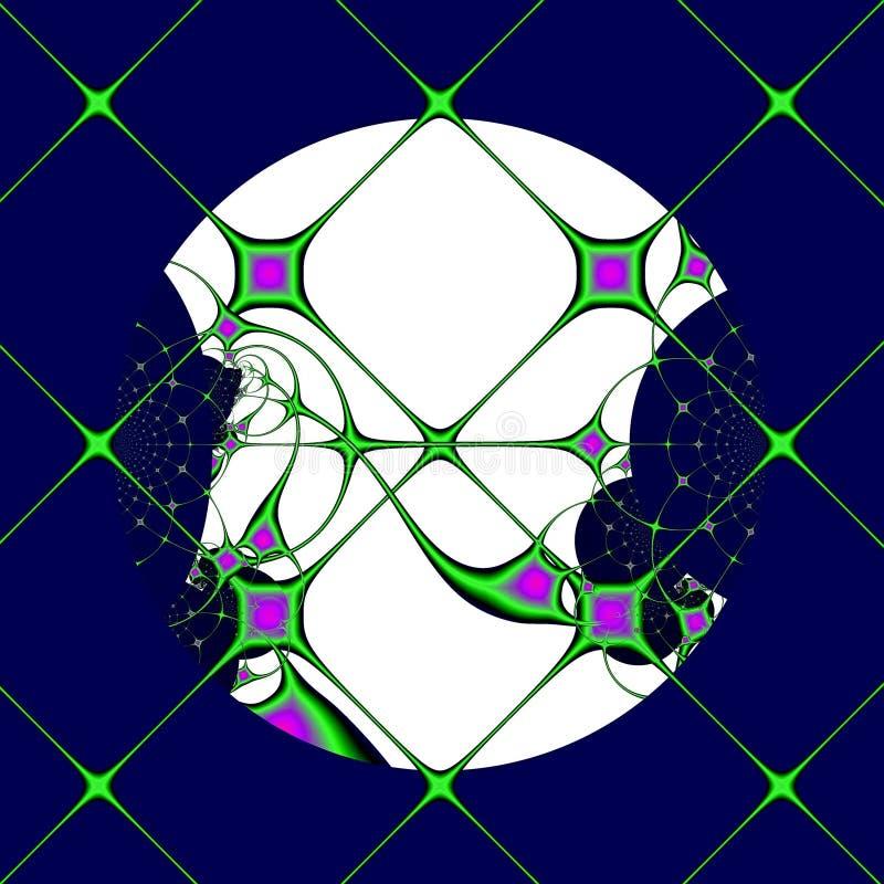 windowpanes φεγγαριών διανυσματική απεικόνιση