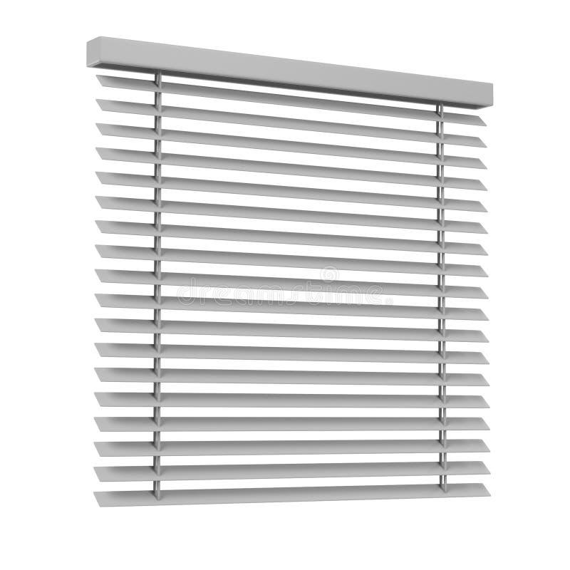 Windows窗帘 库存例证