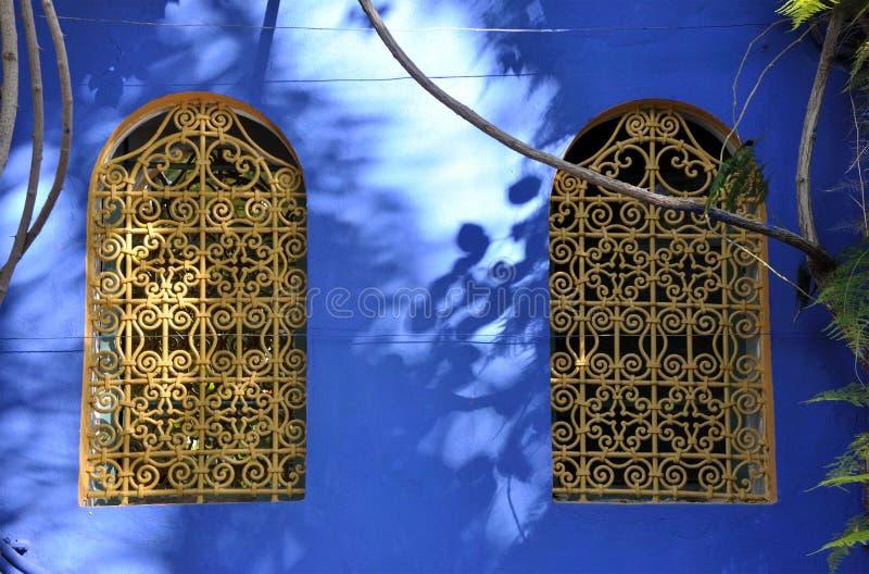 Windows à Marrakech images libres de droits