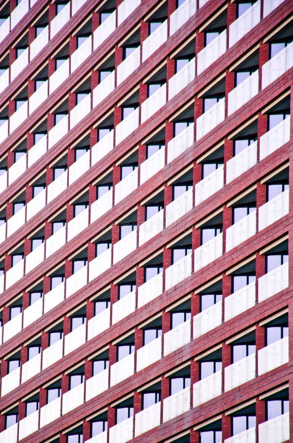 Windows του κτιρίου γραφείων στοκ εικόνες