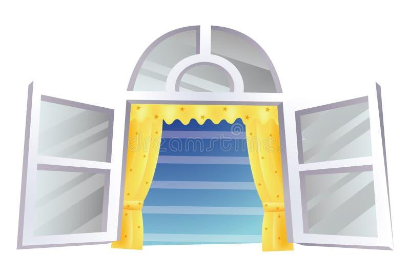 Windows ilustração stock