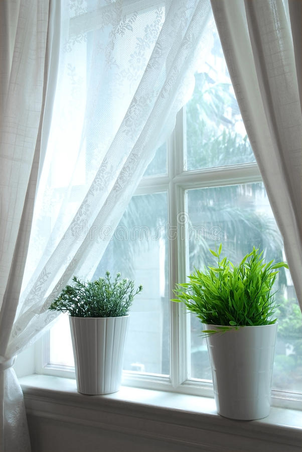 Download Windows stock image. Image of curtain, relaxation, house - 12407157
