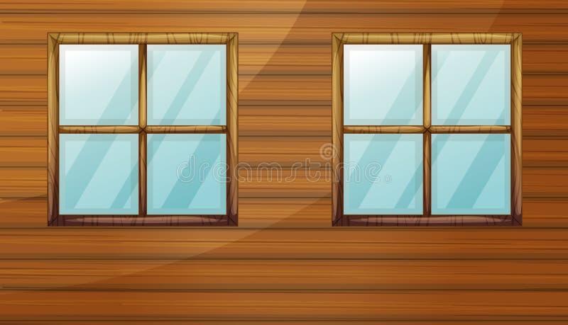 Windows ilustração royalty free