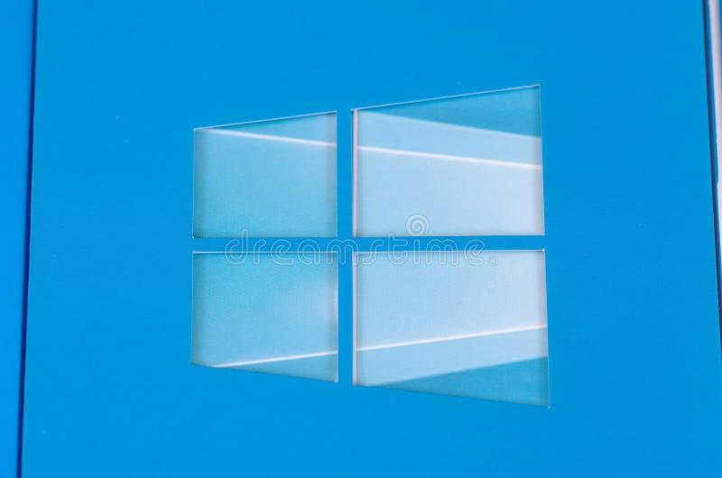 Windows 10 стоковое фото