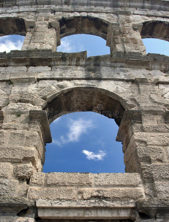 Download Windows on Arena stock photo. Image of arena, empire, holiday - 1387662