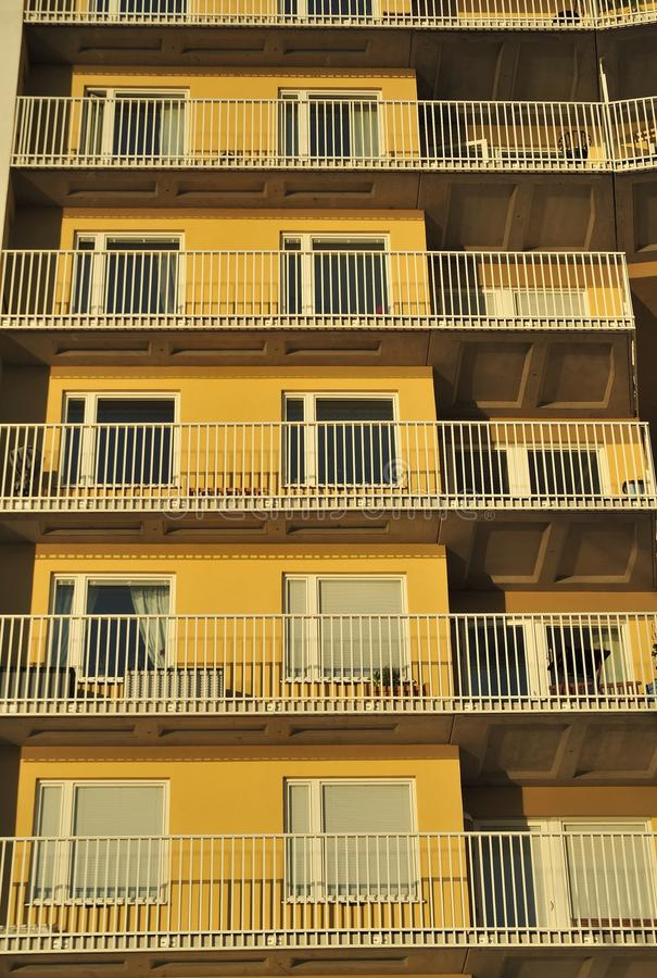 Download Windows and balconies stock photo. Image of apartment - 32229188