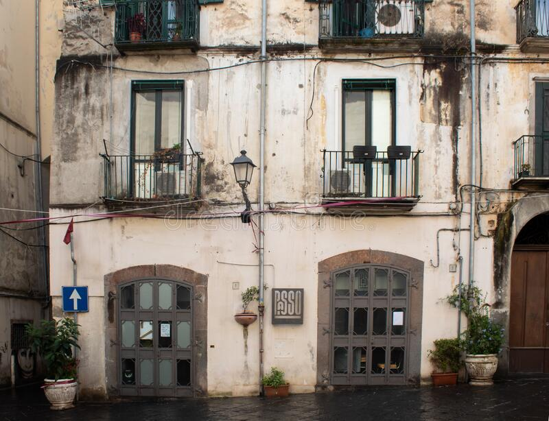 Architecture at  Salerno royalty free stock images