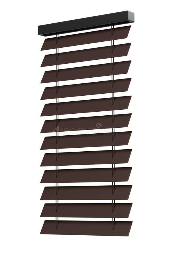 Windows blinds vector illustration