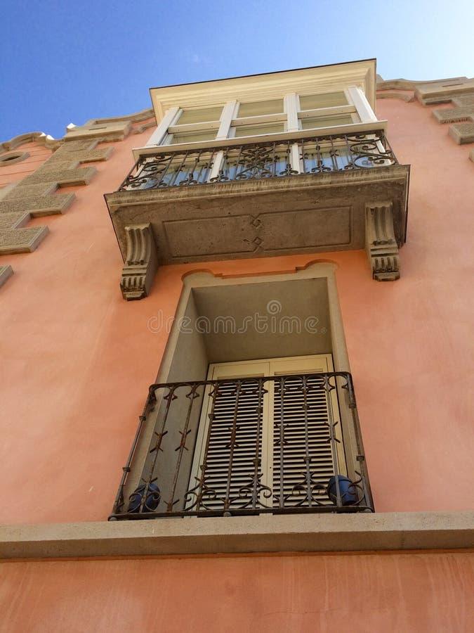 Windows Cartagena fotografia stock