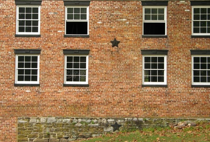 Windows Colonial Photo libre de droits