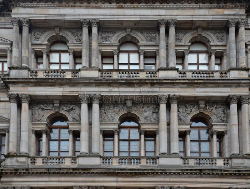 Windows comme des yeux photographie stock libre de droits