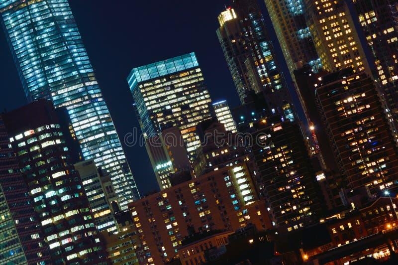 Windows de Manhattan imagenes de archivo