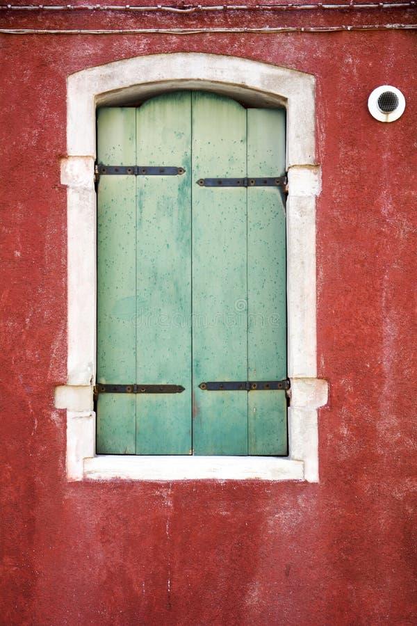 Windows de série de Venise photographie stock