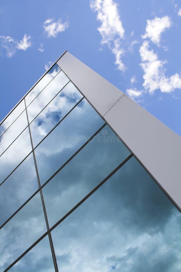 Windows di costruzione moderna fotografia stock