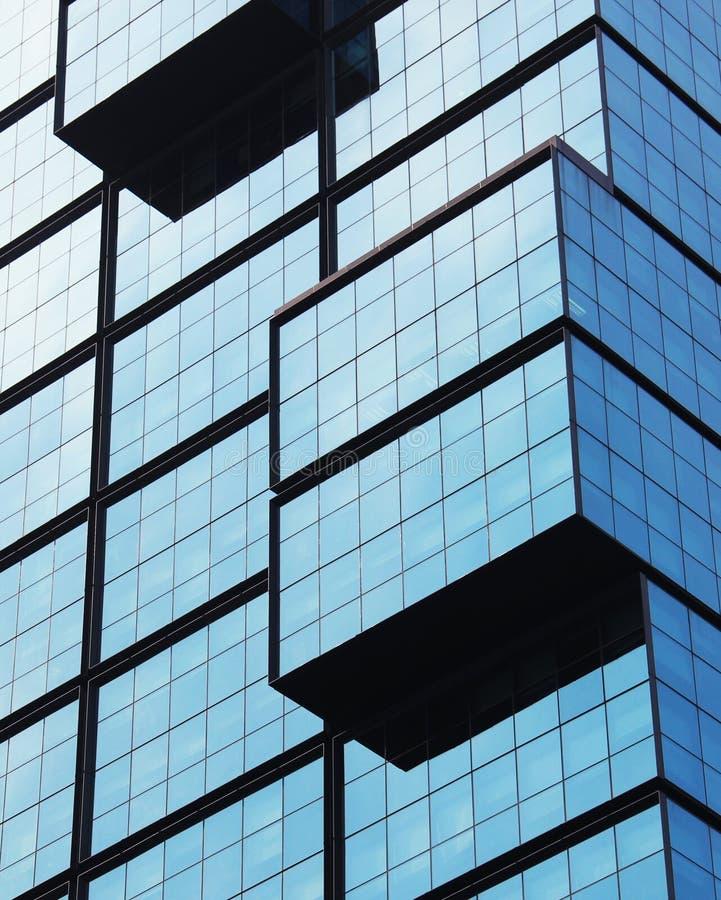 Windows di costruzione moderna fotografie stock