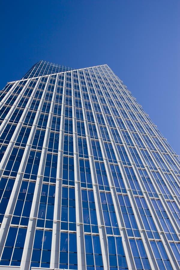 Windows di vetro blu fotografia stock libera da diritti