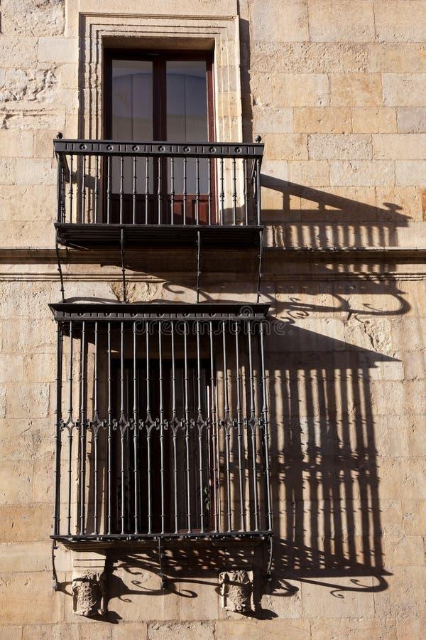 Windows Du Palais De Guzmanes Photos stock