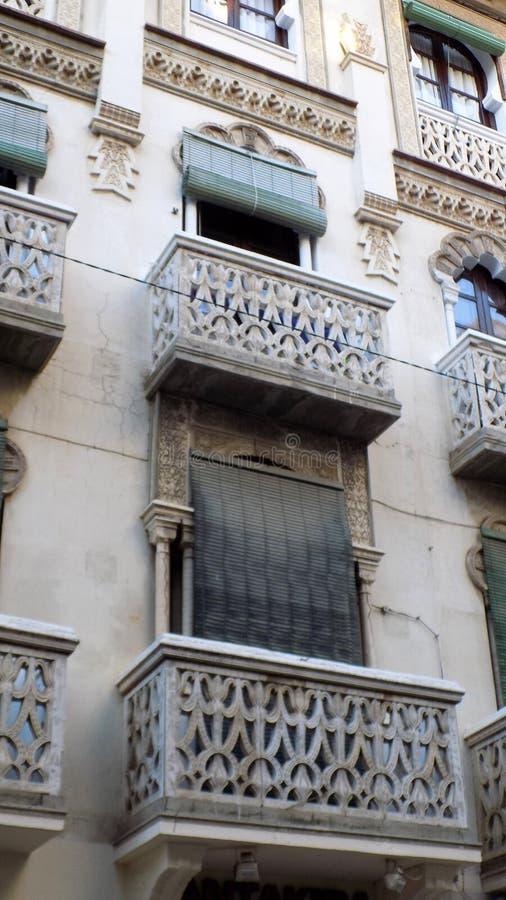 Windows e balcão-Antequera ANDALUSIA-SPAIN fotos de stock