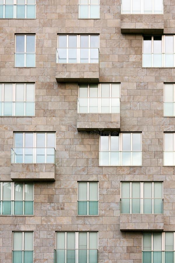 Windows e balcões imagem de stock