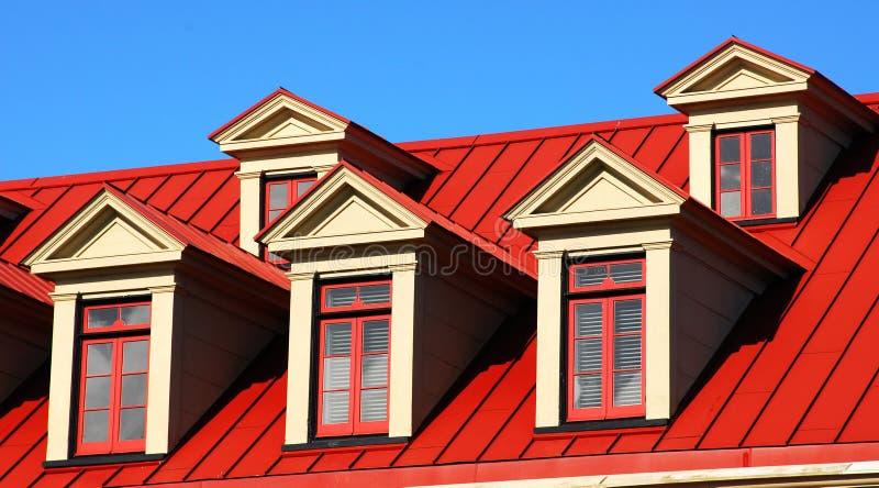 Windows e telhado imagem de stock royalty free