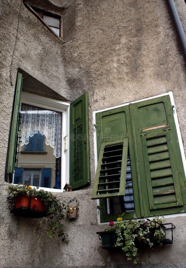 Windows en Revo Italia foto de archivo libre de regalías