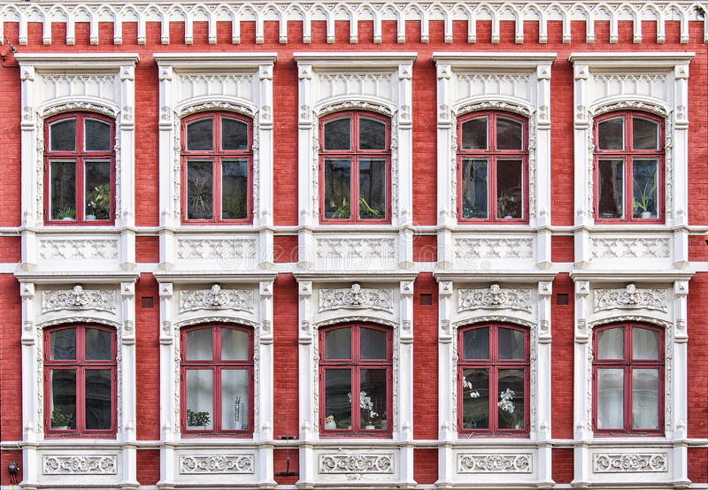 Windows fasad arkivbild