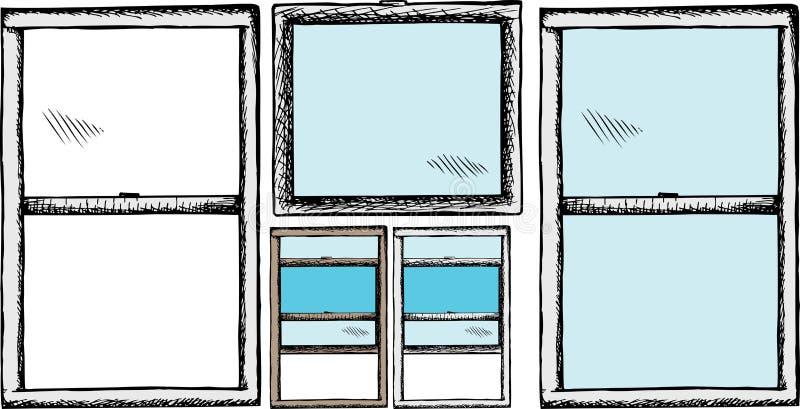 Windows générique illustration de vecteur