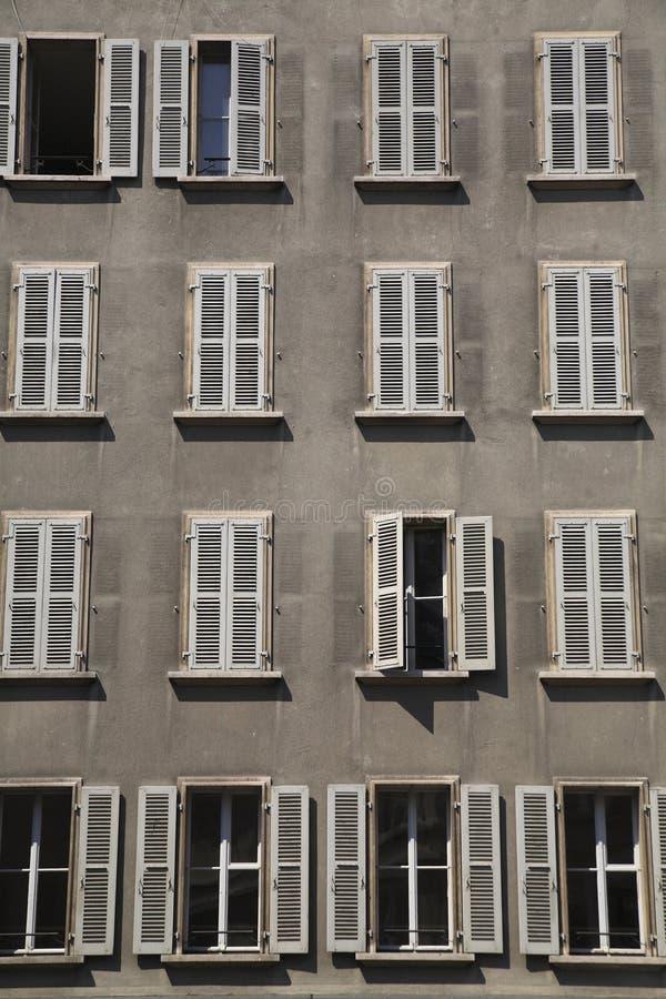Windows, Genebra. fotografia de stock royalty free