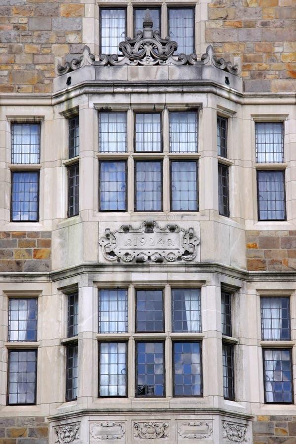 Windows Of Historic Building royalty free stock photo
