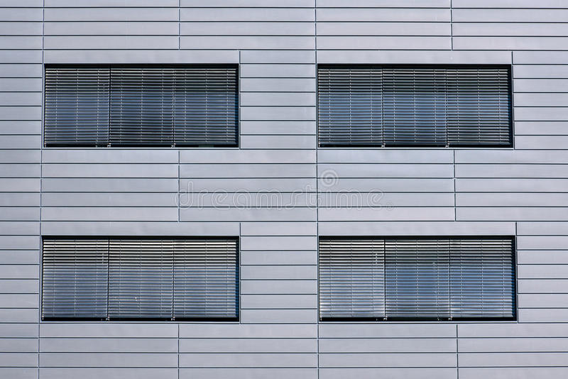 Windows with jalousies royalty free stock image