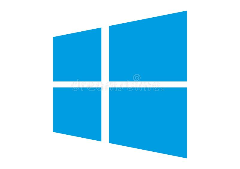 Windows logo royalty ilustracja