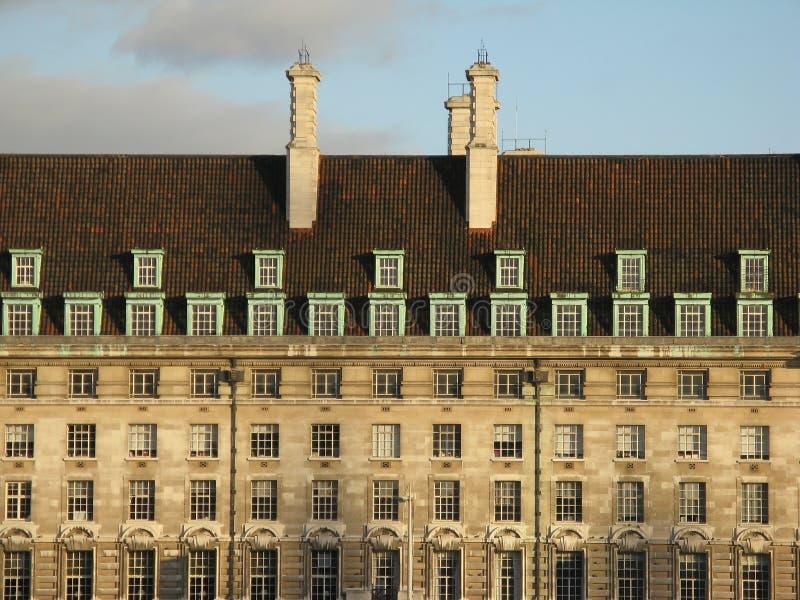 Windows in London stockfotos