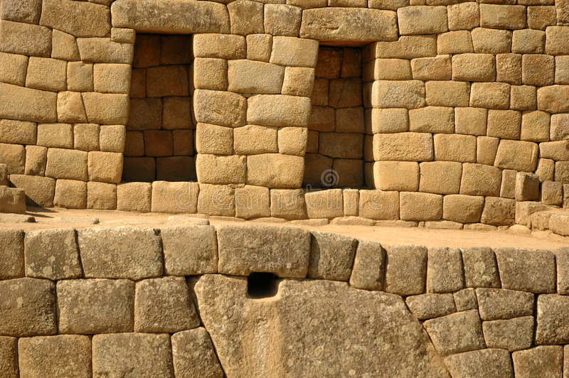 Download Windows From Machu Picchu Royalty Free Stock Photography - Image: 197227