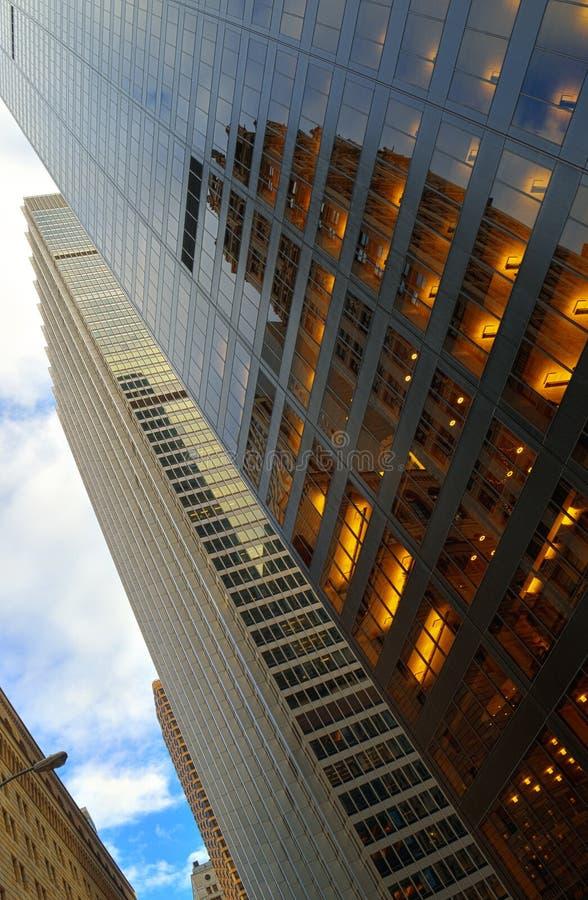 Windows Manhattan obraz stock