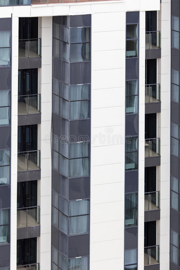 Windows of modern building. Architecture city house stock photography