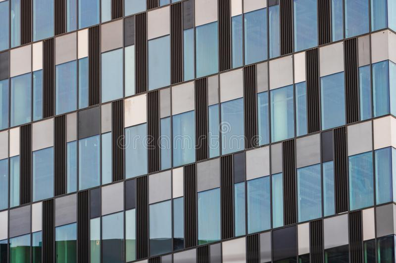 Windows of modern office building.  stock images