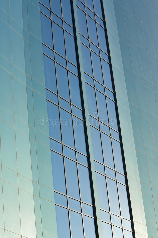 Download Windows On A Modern Skyscraper Office Block Stock Image - Image: 13569987