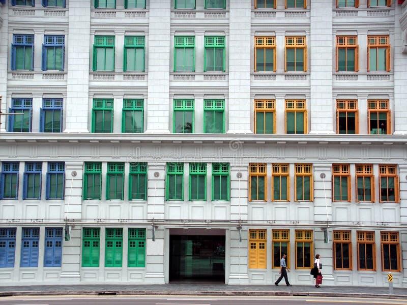 Windows Multi-colour fotografia de stock