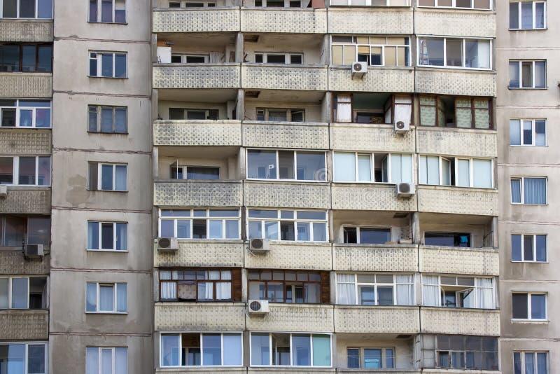 Windows multistory dom obrazy royalty free