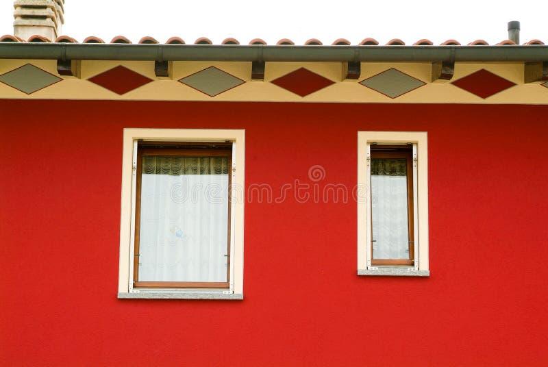 Windows o un hogar unifamiliar foto de archivo libre de regalías