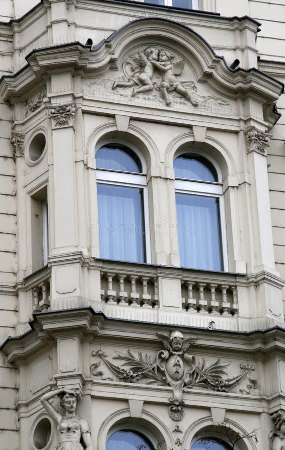 Windows. Prague. image libre de droits