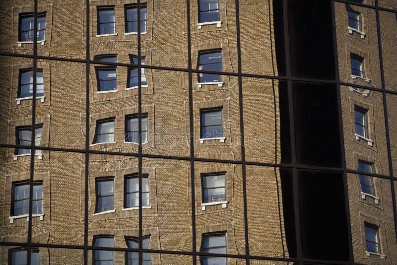 Download Windows reflection 2 stock photo. Image of bricks, high - 2300510