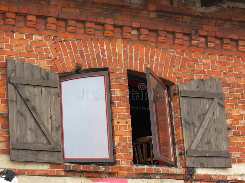 Windows With Shutter Stock Photography
