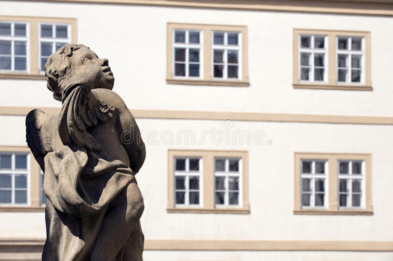 Windows And Statue Royalty Free Stock Images