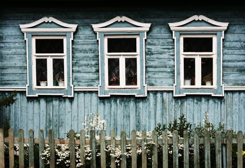 Windows in Suzdal (Russia) immagine stock libera da diritti